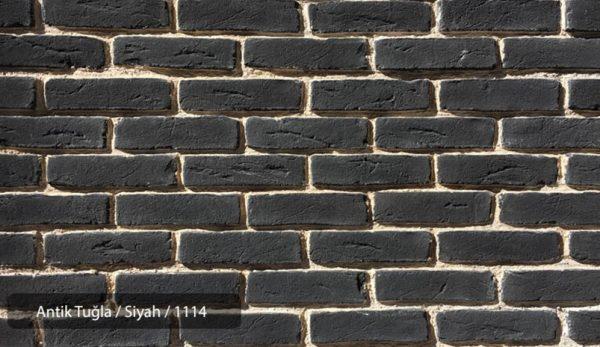 Antik Tuğla Siyah 1114