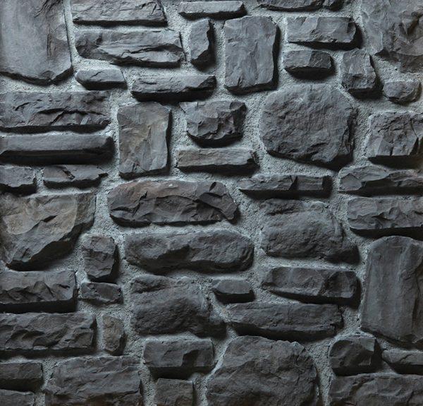 Dekoratif Kültür Taşı Atacama Antracita