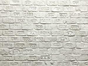 Ladrillo Scritto Bianca Doğal Tuğla Görünümlü Fiber Polyester Damgalı Tuğla Duvar Kaplama m2 Fiyatları