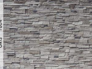Rotto Gris Fiber Taş Duvar Panelleri