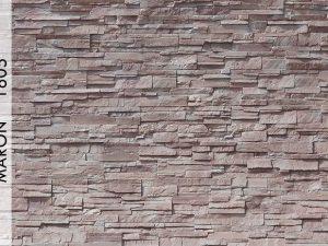 Rotto Marron Fiber Taş Duvar Panelleri