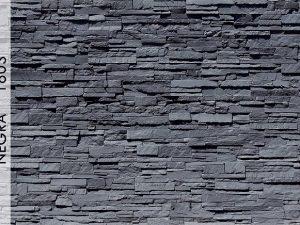 Rotto Negra Fiber Taş Duvar Panelleri