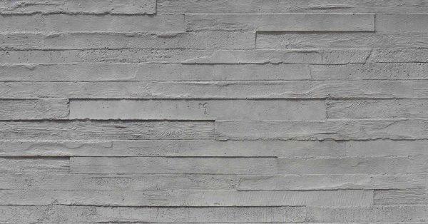 Encofrado Doğal Görünümlü Ahşap Panel Modeli gris