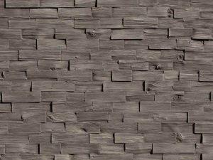 Wood Gris Doğal Ahşap Görünümlü Duvar Kaplama Panelleri