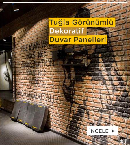 Tuğla Görünümlü Fiber Duvar Panelleri